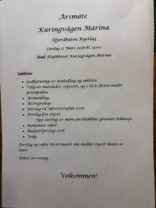 Årsmøte Åfjordsbåten Kystlag